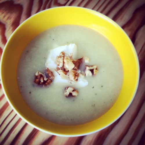 soep van pastinaak peer en gember